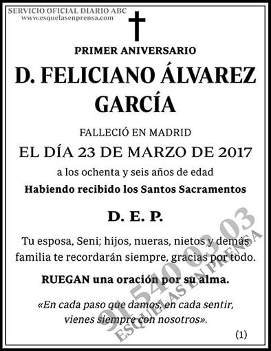 Feliciano Álvarez García